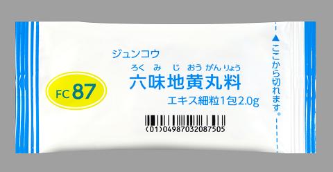 ジュンコウ六味地黄丸料FCエキス細粒